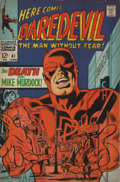 Daredevil Vol. 1 (Marvel - 1964) -41- The death of Mike Murdock!