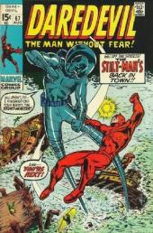 Daredevil Vol. 1 (Marvel - 1964) -67- Stilt-Man stalks the soundstage