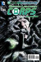 Green Lantern Corps (2011) -14- Rise of the third army : nothing man