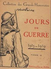 Jours de Guerre -2- Jours de guerre (1915-1918)