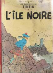 Tintin (Historique) -7B22bis- L'île noire