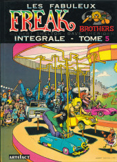 Les fabuleux Freak Brothers -5- Intégrale - Tome 5