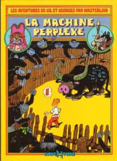Gil et Georges par Wasterlain (Les Aventures de) -1- La machine perplexe