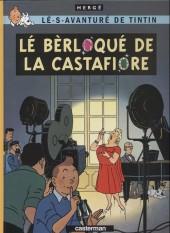 Tintin (en langues régionales) -21Matheysien- Lé bèrloqué de la Castafiore