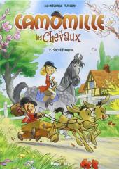 Camomille et les chevaux -2- Sacré Pompon