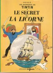 Tintin (Study Comics - del Prado) -6- Le secret de la Licorne