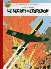 Blake et Mortimer -1Toilé- Le Secret de l'Espadon - Tome I - La Poursuite fantastique