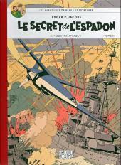 Blake et Mortimer (Les Aventures de) -3Toilé- Le Secret de l'Espadon - Tome III - SX1 contre-attaque