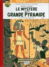 Blake et Mortimer (Les Aventures de) -4Toilé- Le Mystère de la Grande Pyramide - Tome I - Le Papyrus de Manethon