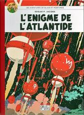 Blake et Mortimer (Les Aventures de) -7Toilé- L'énigme de l'Atlantide