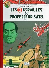 Blake et Mortimer (Les Aventures de) -11Toilé- Les 3 formules du professeur Sato - Tome I