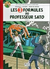 Blake et Mortimer (Les Aventures de) -12Toilé- Les 3 formules du professeur Sato - Tome II