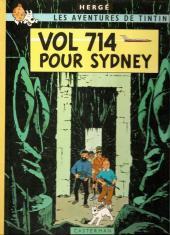Tintin (Historique) -22B37TT- Vol 714 pour Sydney