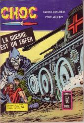 Choc 2e série (Arédit - Comics Pocket) -24- La guerre est un enfer