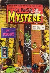 La maison du Mystère (Arédit) -8- un monstre