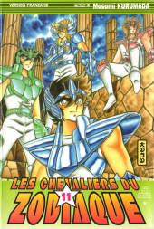 Les chevaliers du Zodiaque (Kana) -11- Chevaliers, nous vous confions Athéna