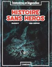 Histoire sans héros - Tome 1b