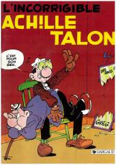 Achille Talon (Publicitaire) -34Total- L'incorrigible Achille Talon