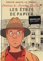 Jérôme K. Jérôme Bloche -2e2012- Les Êtres de papier