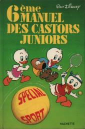 Manuel des Castors Juniors -6- 6ème manuel des Castors Juniors - Spécial sport