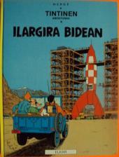 Tintin (en langues régionales) -16Basque- Ilargira Bidean