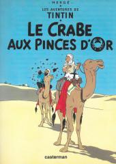 Tintin - Publicités -9Total- Le Crabe aux pinces d'or