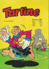 Tartine -353- Tartine n° 353