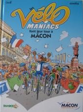 Les vélo Maniacs -Pub- Font leur tour à Macon