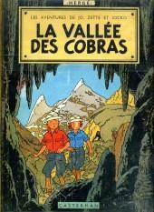 Jo, Zette et Jocko (Les Aventures de) -5B27- La vallée des cobras
