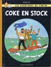 Tintin (Historique) -19B30- Coke en stock