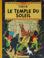 Tintin (Historique) -14B31- Le temple du soleil