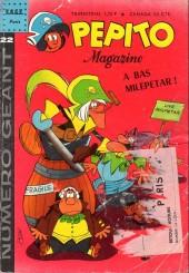 Pepito (3e Série - SAGE) (Pepito Magazine - 2e série) -22- A bas milepetar !