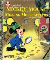 A little golden book - Mickey mouse and the missing mouseketeers