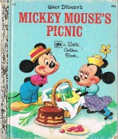 A little golden book -15D- Mickey mouse's picnic