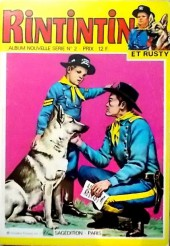 Rin Tin Tin & Rusty (2e série) -Rec72- Album Nouvelle Série N°2 (n°144,145 et 148)
