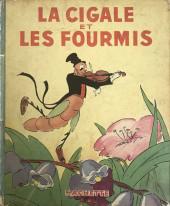Walt Disney (Hachette) Silly Symphonies -6- La cigale et les fourmis