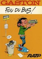 Gaston (Hors-série) -FB03- Fou du bus ! - RATP