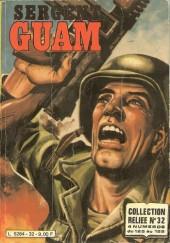 Sergent Guam -REC32- Collection reliée N°32 (du N°125 au N°128)