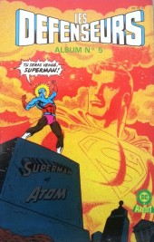 Les défenseurs (2e série - Arédit - Arédit DC) -Rrc05- Album N°5 (du n°9 au n°10)