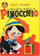 Votre série Mickey (2e série) - Albums Filmés ODEJ -33- La merveilleuse aventure de pinocchio