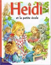 Heidi (Maury) -21- Heidi et la petite école