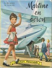 Martine -15- Martine en avion