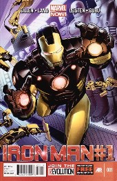 Iron Man (2013) -1- Believe Part 1/5: Demons and Genies