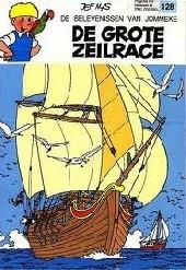 Jommeke -128- De grote zeilrace