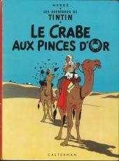 Tintin (Historique) -9B38- Le crabe aux pinces d'or