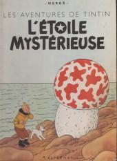Tintin (Historique) -10B07- L'étoile mystérieuse