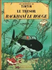 Tintin (Historique) -12B38bis- Le trésor de Rackham Le Rouge