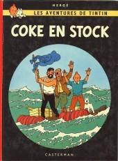 Tintin (Historique) -19B38bis- Coke en stock