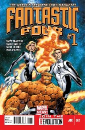 Fantastic Four (2013) -1- Unstable