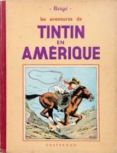 Tintin (Historique) -3A14bis- Tintin en amérique